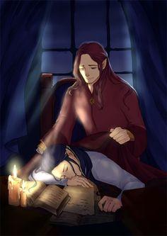 Maedhros & Fingon by 咸鱼老球