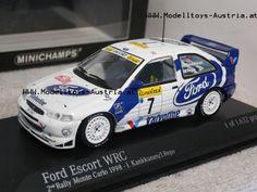 Ford Escort WRC 1998 Rallye Monte Carlo KANKKUNEN / REPO 1:43, Modelltoys-Austria