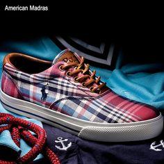 Polo Ralph Lauren Men's Canvas Sneaker $65