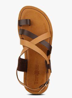 9ae06a4706ac Salvatore Ferragamo Nostro Sandal Hickory - Zappos Couture