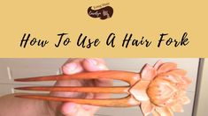 How To Use A Hair Fork! - YouTube Braid Tutorials, Forks, Bobby Pins, The Creator, Hair Accessories, Long Hair Styles, Youtube, Long Hairstyle, Hair Pins