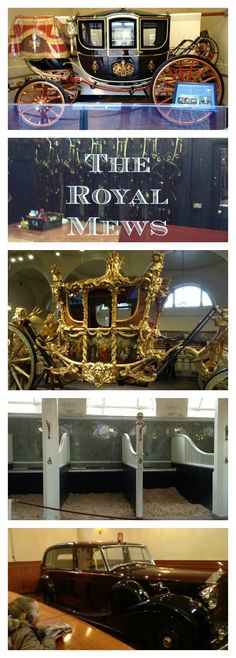 The Royal Mews - The Royal Mews are where the Queen's horses, carriages and official cars are kept.