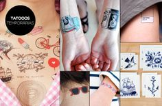 Melissa Trends: tattoos temporárias
