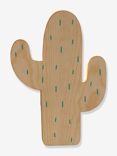Applique Cactus - Bois - 2