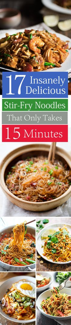 http://imgur.com/gallery/6VY0ci9 17 Insanely Delicious Stir-Fry Noodles That'll Only Take 15 Minutes