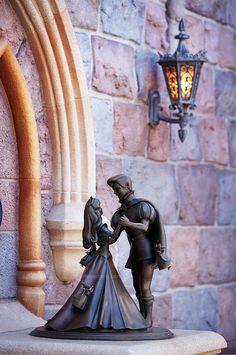 Disneyland // Sleeping Beauty Castle // Sleeping Beauty and Prince