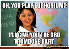 euphonium jokes - Google Search