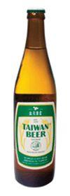 Cerveja Taiwan Beer, estilo Standard American Lager, produzida por Taiwan Tobacco and Liquor Corp, Taiwan. 4.5% ABV de álcool.