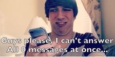 I can't answer all 0 messages at once