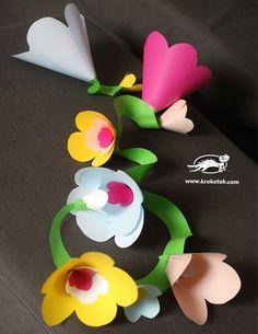 Tavaszi virágfüzér - Színes Ötletek