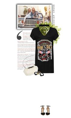 """""""choker dress."""" by bubblesandbuzzlightyear ❤ liked on Polyvore featuring Baldwin, WearAll, Overland Sheepskin Co., Ashley Pittman, Gianvito Rossi, shirtdress, contestentry and chokerdress"""