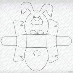 Easter basket craft template | Crafts and Worksheets for Preschool ...