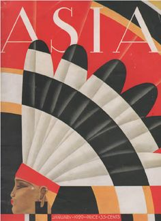art deco Asia magazine illustration by Franck McIntosh 1929