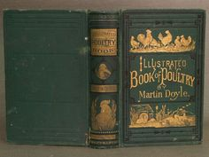 Illustrated book of domestic poultry. Martin Doyle (19th century)