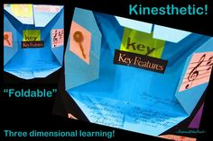 Graphic Organizers, foldables, Dinah Zike, kinesthetic learning
