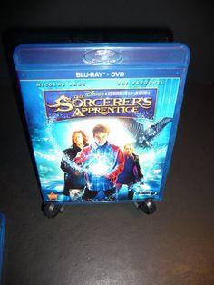 The Sorcerer's Apprentice (Blu-ray/DVD, 2010, 2-Disc Set) Disney Nicolas Cage
