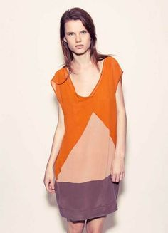 geometric color blocking
