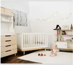 scandinavian style nursery ideas