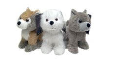 Plush Toy 'Game of Thrones' Dire Wolves, Dragon Eggs, and a Three-Eyed Raven