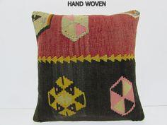 Kilm Pillows, Sofa Throw Pillows, Pillow Inserts, Pillow Covers, Moroccan Cushions, Turkish Kilim Rugs, Decorative Pillows, Hand Weaving, Fabric