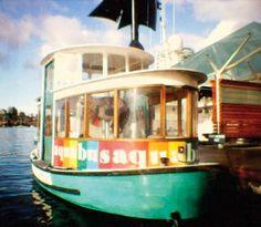 Granville Island, boat