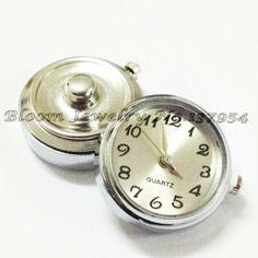Wholesale noosa chunks button, watch noosa chunks fit Noosa bracelets, NC0001 $2.00