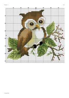 broderie - Page 2 - Decoration İdeas Cross Stitch Owl, Cross Stitch Samplers, Cross Stitch Animals, Cross Stitch Charts, Cross Stitching, Cross Stitch Embroidery, Funny Cross Stitch Patterns, Cross Stitch Designs, Christmas Embroidery Patterns