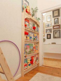 Children's room ideas for feel-good stalls: how it works! - home diy on a budget Diy Living Room Decor, Diy Home Decor, Diy Home Improvement, Kidsroom, Diy For Kids, Bookshelves, Diys, Easy Diy, Nursery
