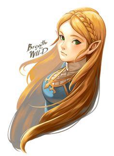Zelda from BOTW