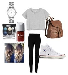 """amusement park"" by wcyera on Polyvore featuring Max Studio, Converse, Monki, H&M, Marc by Marc Jacobs and Chanel"