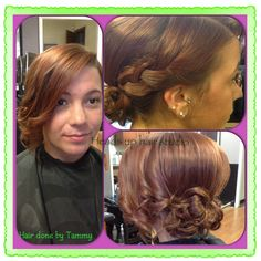 Prom time! @ heads up hair studio