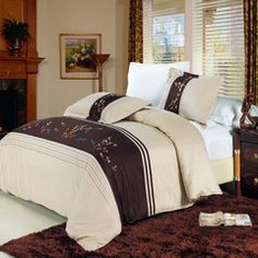 Celeste Egyptian cotton Embroidered Duvet Cover Set, Save 10% on duvet cover sets. Promo code 0TX6998KW94M expires 03/31/15