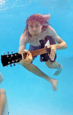 Kurt Cobain, Nevermind photo shoot