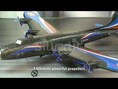 Dit extra grote radiografische vliegtuig beschikt over maar liefst vier propellers. Het vliegtuig is voorzien van een oplaadbare zender. De Speedy Plus is eenvoudig te besturen en staat garant voor veel vlieg plezier!