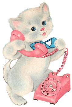 Yes, I would like to reserve a Ragdoll kitten Art Vintage, Vintage Images, Vintage Greeting Cards, Vintage Postcards, Happy Birthday 1, Old Cards, Vintage Birthday, Cat Art, Kitsch