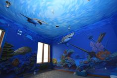 Bedroom for my ocean loving Asher! he will go nuts!!!