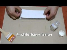 How To Transfer An Image Onto Stone - YouTube