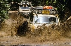 Land Rover Camel Trophy in Brazil - by Peter MacGillivray