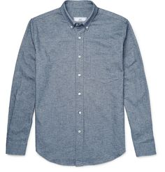 AMI cotton oxford shirt.
