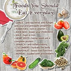 Foods that u should eat everyday