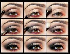 make up occhi marroni trucco minerale - Cerca con Google