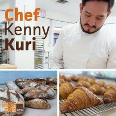 Kenny Kuri nos acompañará en esta edición de #Mexipan2016, ¡tienes que conocer sus creaciones!  #Mexipan #bakers #KennyKuri #chef #cheftable #masterchef #bread #croissant #pan #panadero #panadería
