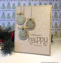Jolly Tags Stamp Set by Newtons Nook Designs