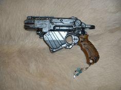 Steampunk Nerf Proton Pistol. £29.00, via Etsy.