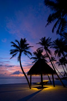 Sunsetting over the Grand Beach Villa at One & Only Reethi Rah