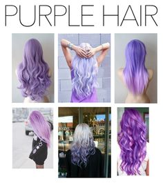 """""""Purple Hair"""" by madieeh ❤ liked on Polyvore"""