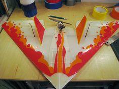 Styling a Mugi Coroplast RC Plane