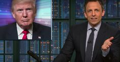 #World #News  Seth Meyers masterfully skewers Trump's 'alternative facts' in his 'Closer Look'  #StopRussianAggression