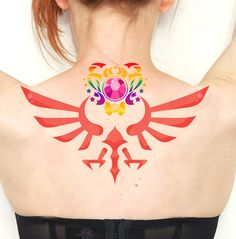 i just peed on myself, this would be so cool. sailor moon/zelda tattoo!!!!! :D