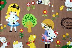 Hey, I found this really awesome Etsy listing at https://www.etsy.com/listing/164325615/1-yard-hello-kitty-kokka-sanrio-japanese